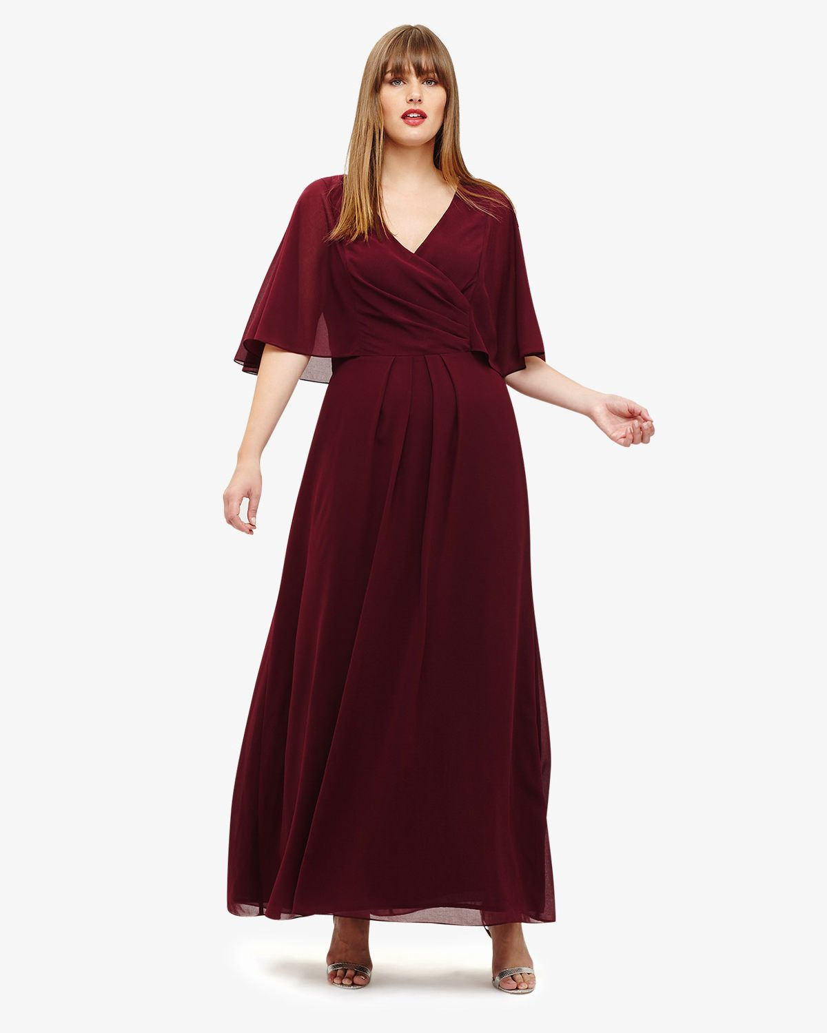 Opal Maxi Bridesmaid Dress | Studio 8 | Sleeved