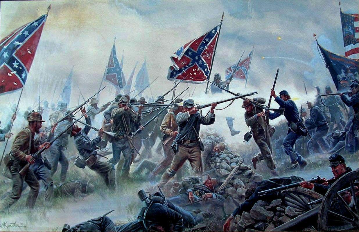 Gettysburg Civil war artwork, Civil war art, American