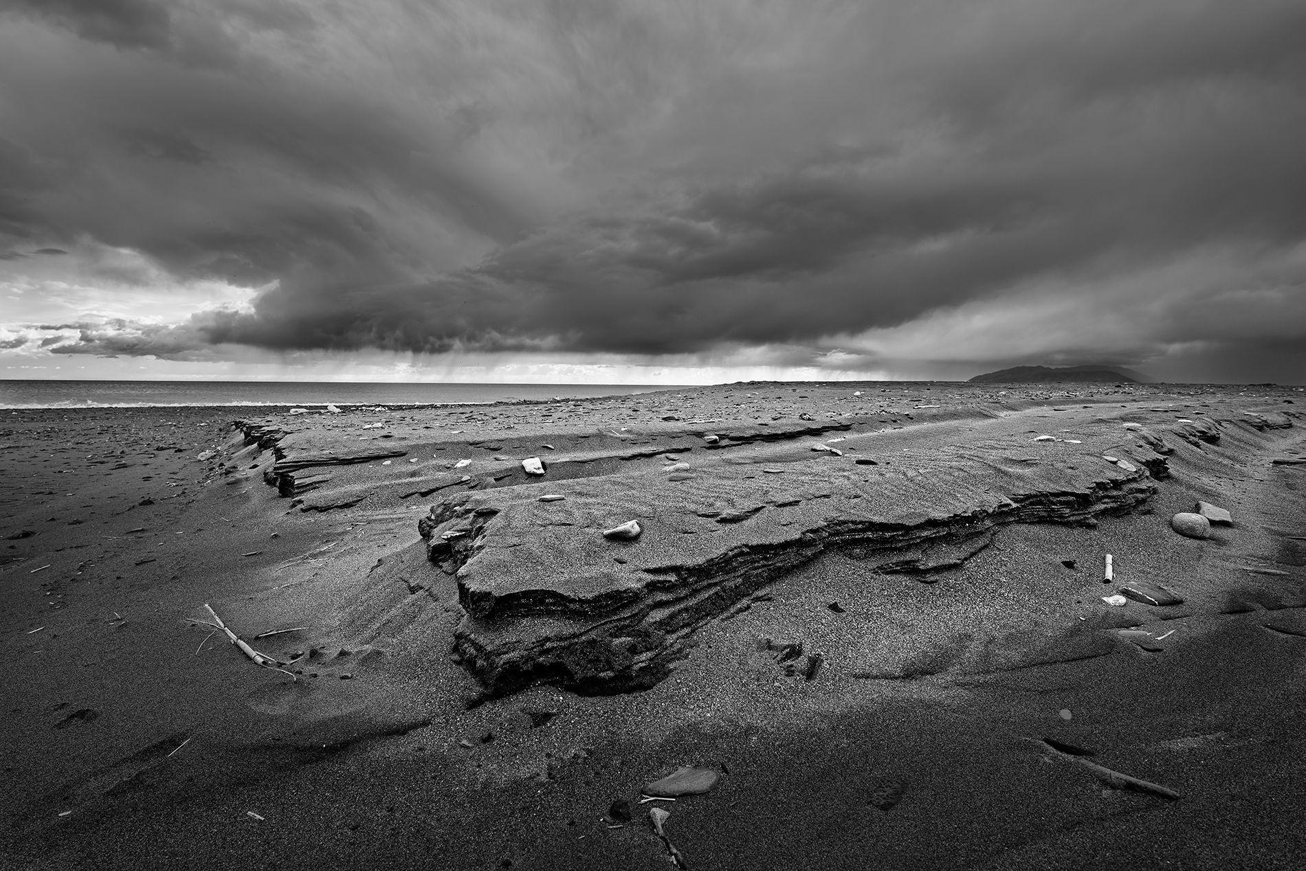 El viento sobre la arena