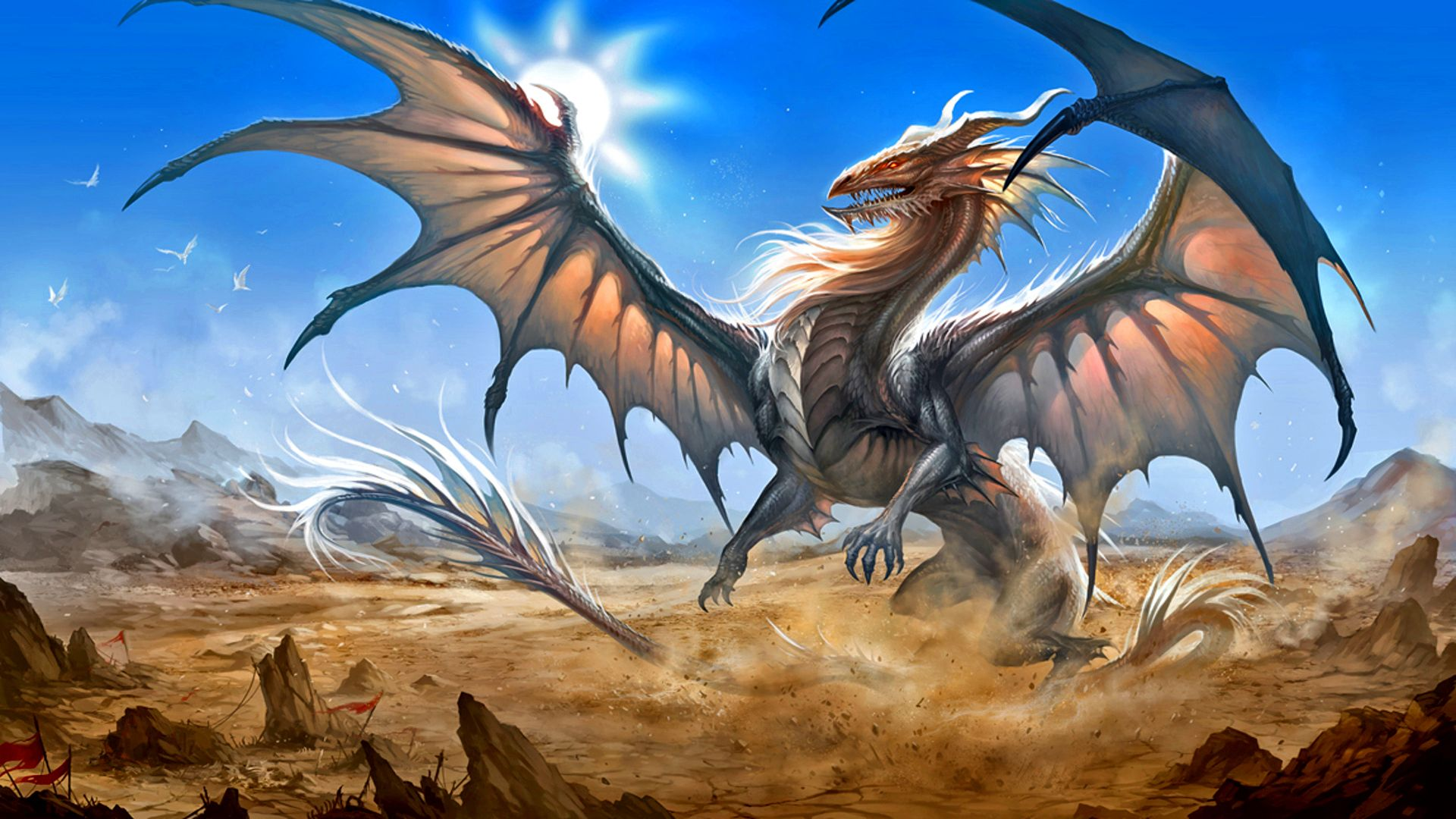 What would you do if you saw a dragon this big? Wow I