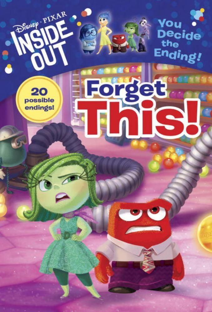Inside Out Chapter Book 2 Disney Pixar