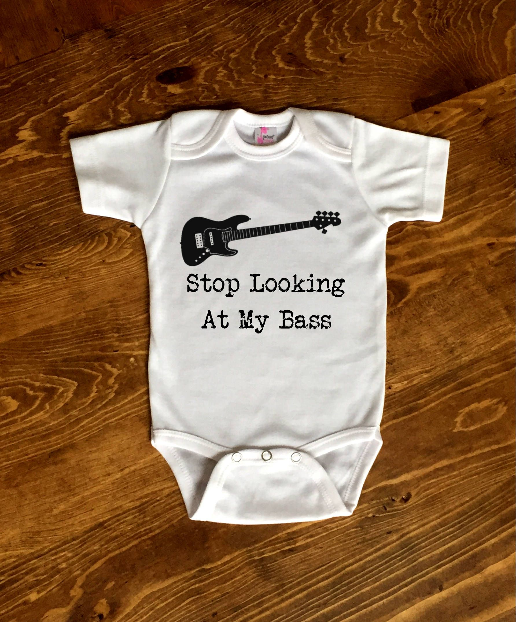 Bass Guitar Onesie, Guitar Baby Shower, Guitar Baby Girl ...