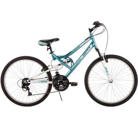 26 Huffy Women S Trail Runner Mountain Bike Blue Outdoor