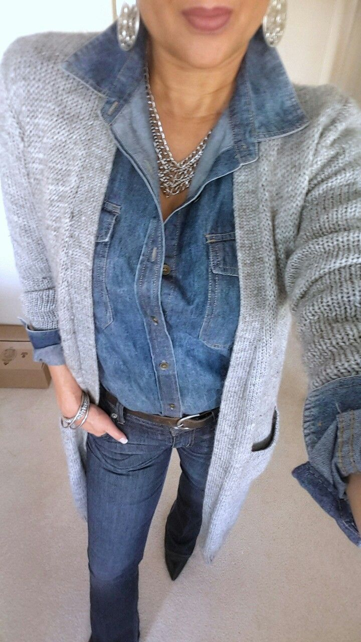 My look today It39s the double quotyquot tag with a denim on the