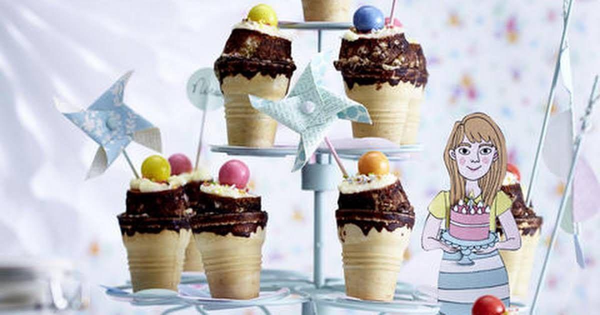 Ice Cream Cone Cupcakes Recipe Cupcake Cones Fairy Cakes Ice