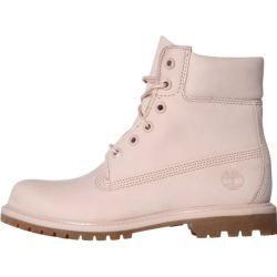 Timberland Damen Stiefel 6-Inch Premium Boot – W, Größe 40 in Cameo Rose Waterbuck Monochromatic, Gr