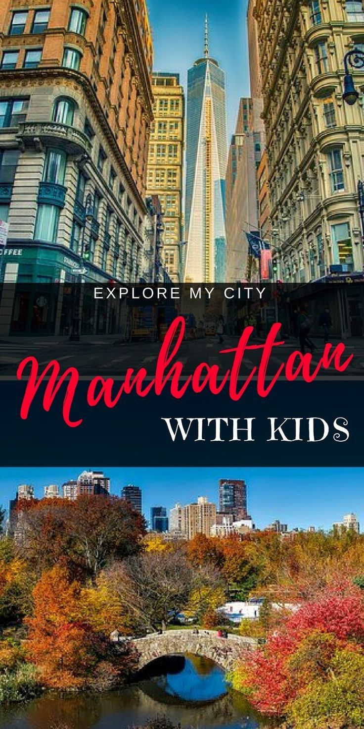 Manhattan Top 10 With Kids An Insiders Guide