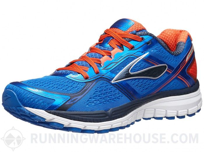 3ebdeca417780 Brooks Ghost 8 Men s Shoes Electric Orange Blue