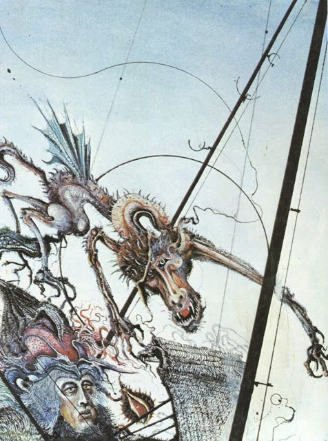 """The Rat Catcher"" by Ian Miller."