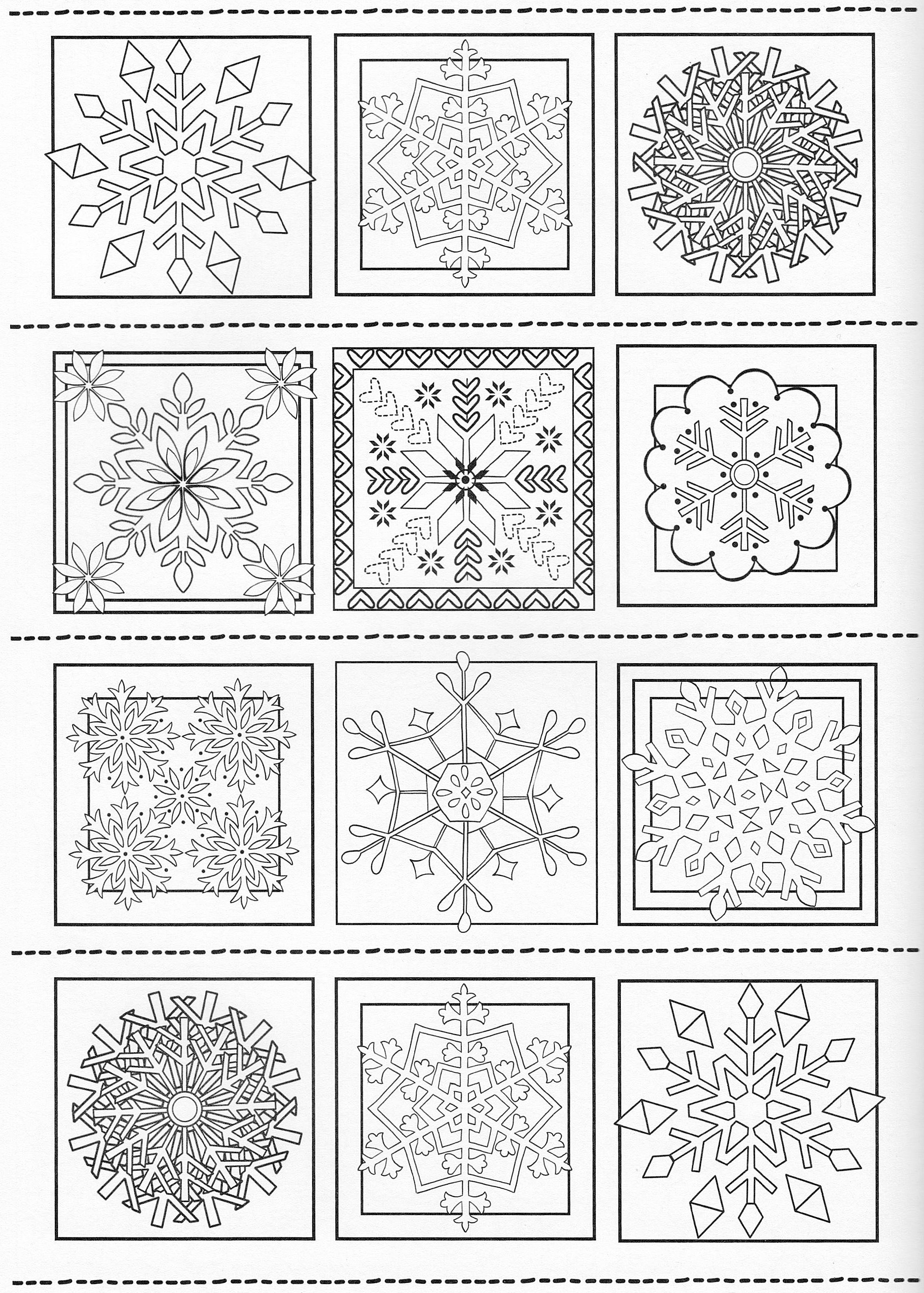 Scandinavian Coloring Book Pg 39 | mandalas | Pinterest