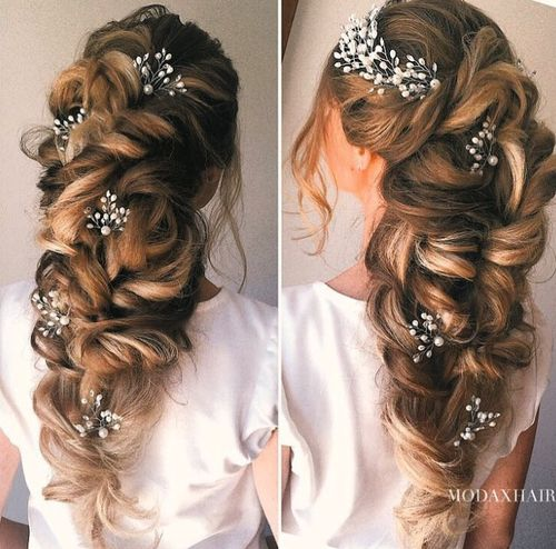 Alluring Hairstyles With Princess Look Fashionarrow Com Long Hair Styles Wedding Hair Inspiration Wedding Hair And Makeup
