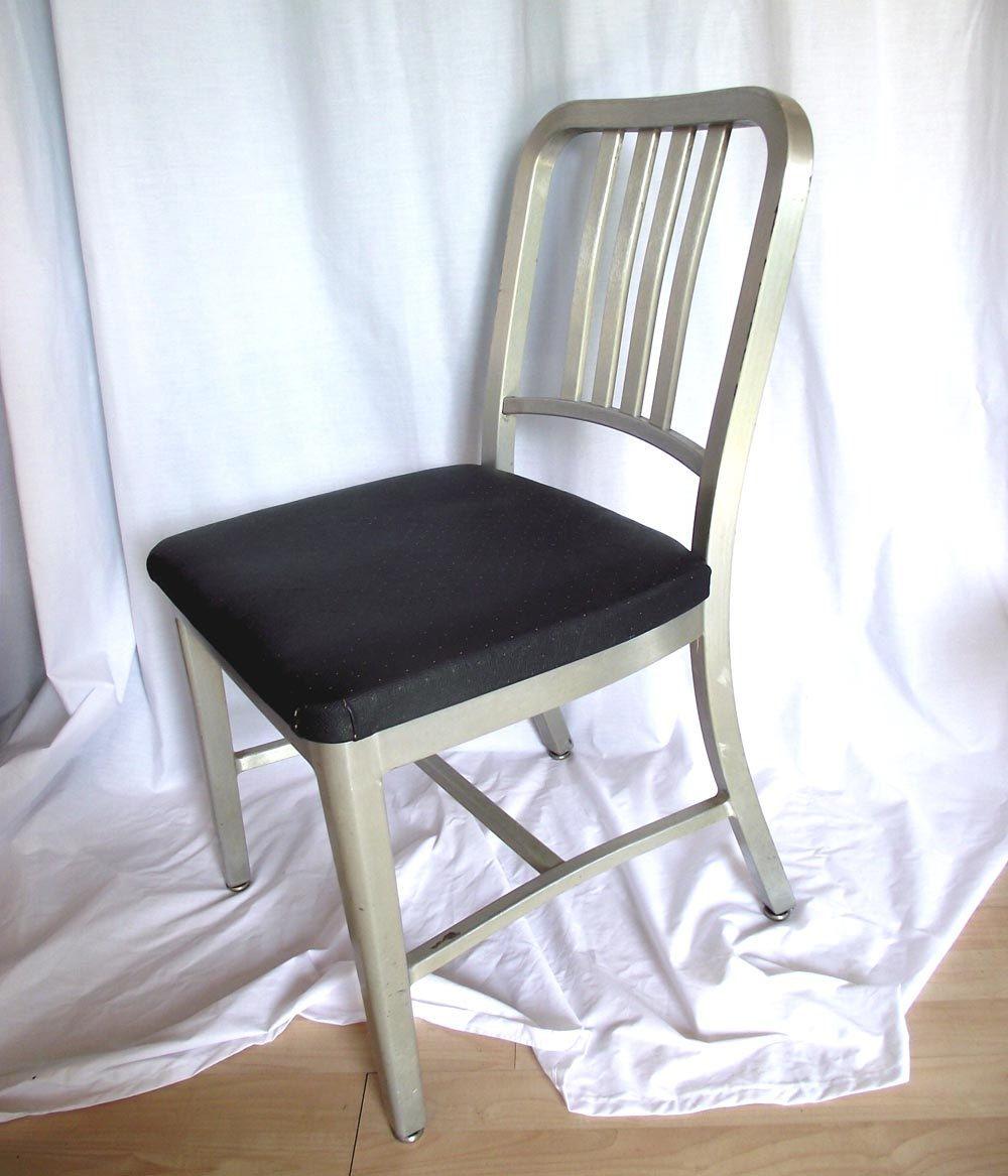 Vintage Goodform Aluminum Chair C 1940 Aluminum Kitchen Chair