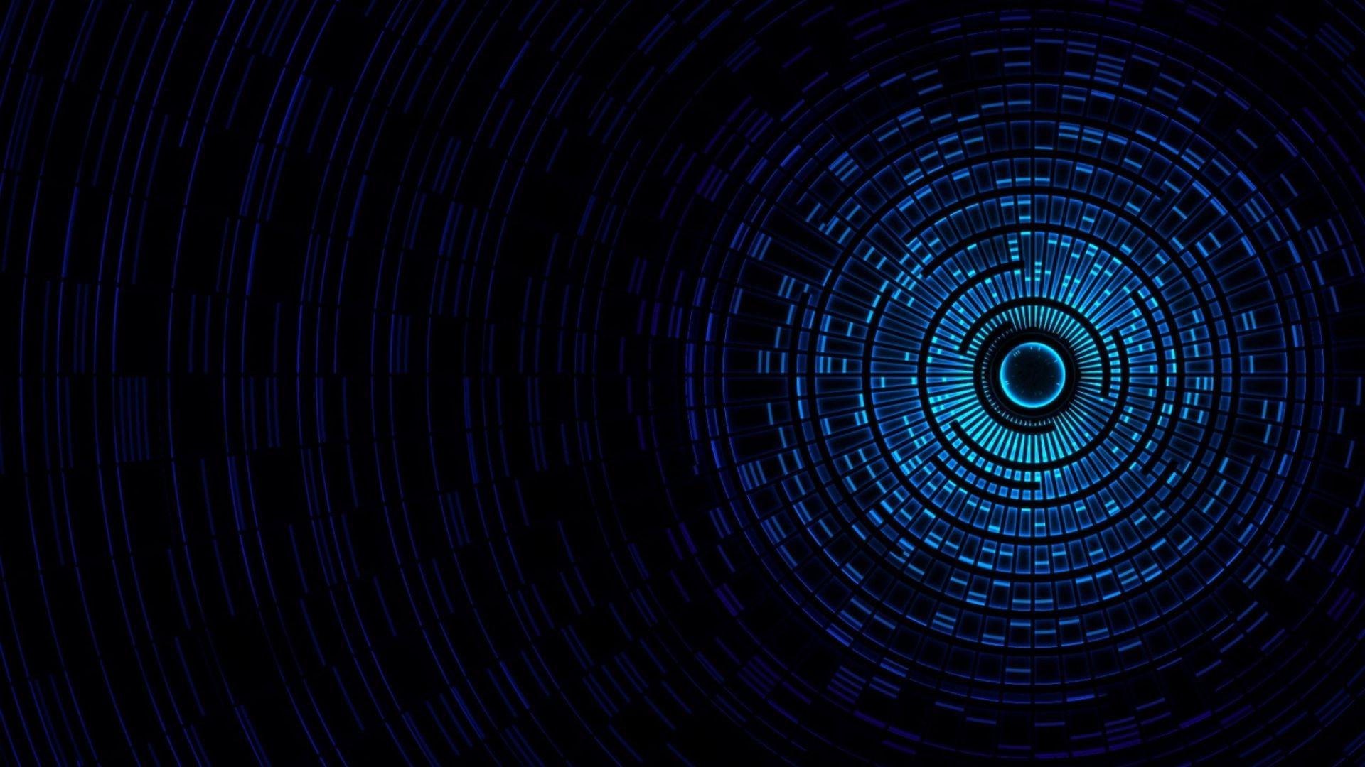 1920x1080px Free Download Hd Wallpaper Blue Tunnel Digital Wallpaper Abstract Digital Blasph Dark Blue Wallpaper Background Hd Wallpaper Blue Wallpapers