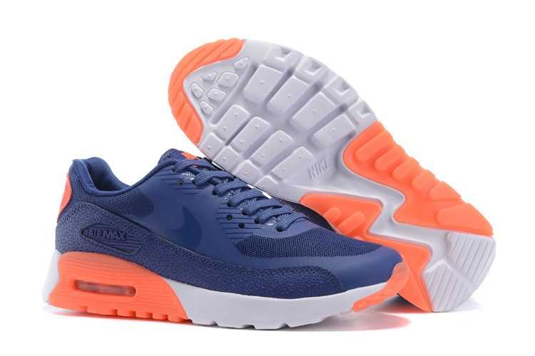 free shipping 3aac1 d0323 ... löparskor a3a8b 969bf  usa 1830 nike air max 90 billigt dam blå orange  se343722oxhvav ad95b 78405