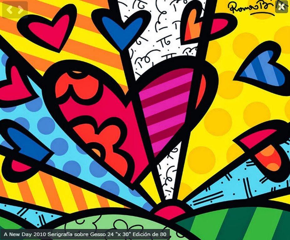 Minimalismo arte al leo cuadros abstractos de colores vivos cuadros decorativos de arte pop y - Cuadros de colores ...