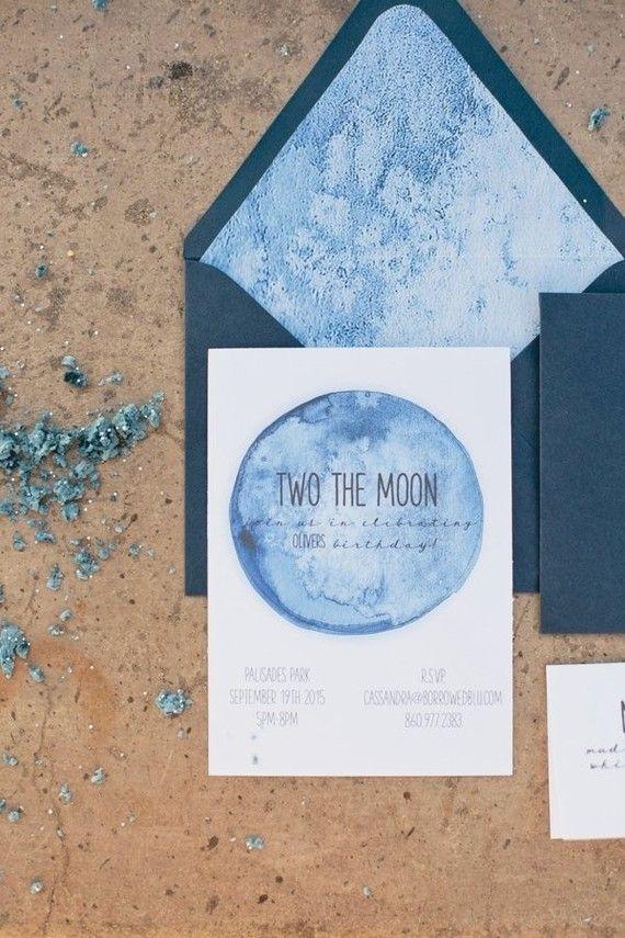 moon birthday invites cakelet kid parties in 2018 pinterest