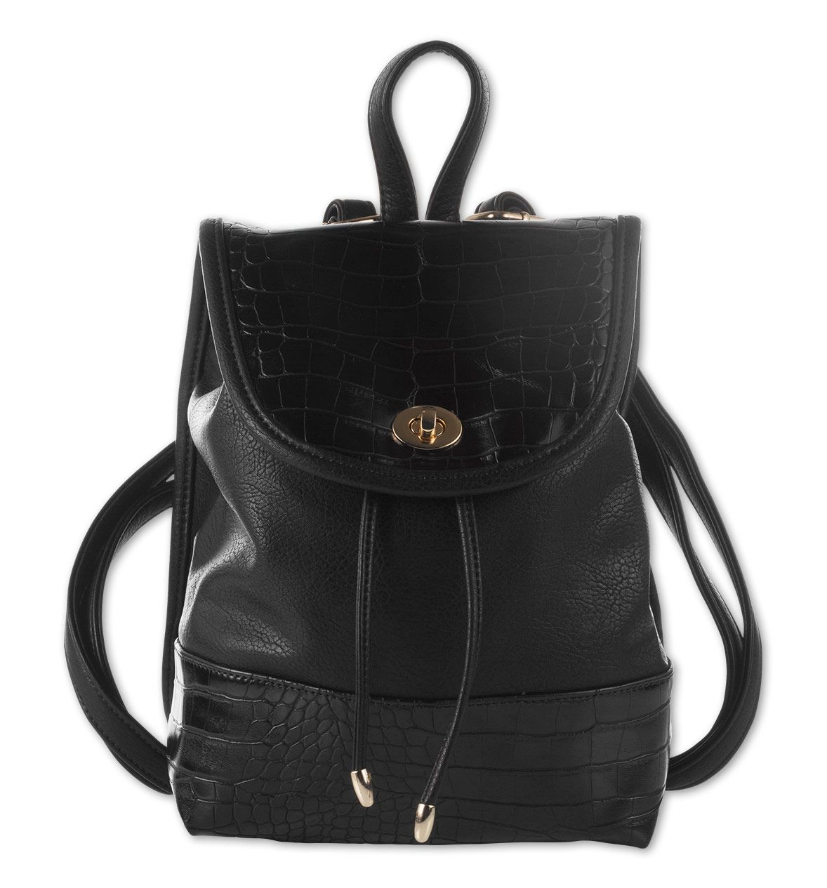 Damen Rucksack In Schwarz Mode Gunstig Online Kaufen C A Fashion Backpack Fashion Backpacks