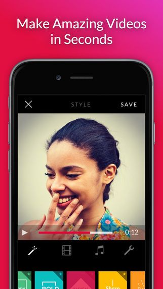 Replay Video Editor - Free Movie Maker to Edit Photos, Clips with Music by Stupeflix