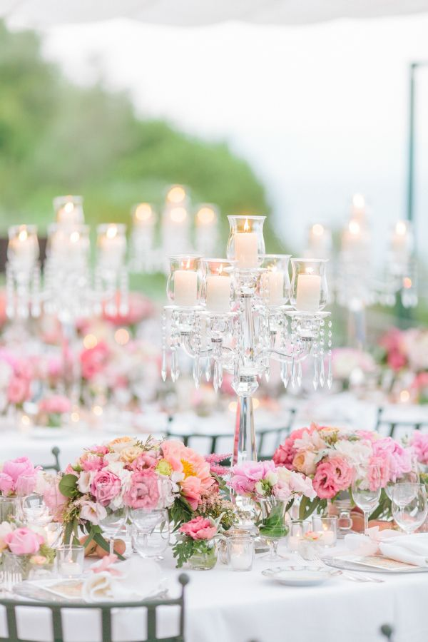 Clic Pretty Pink Table Decor Http Www Stylemepretty