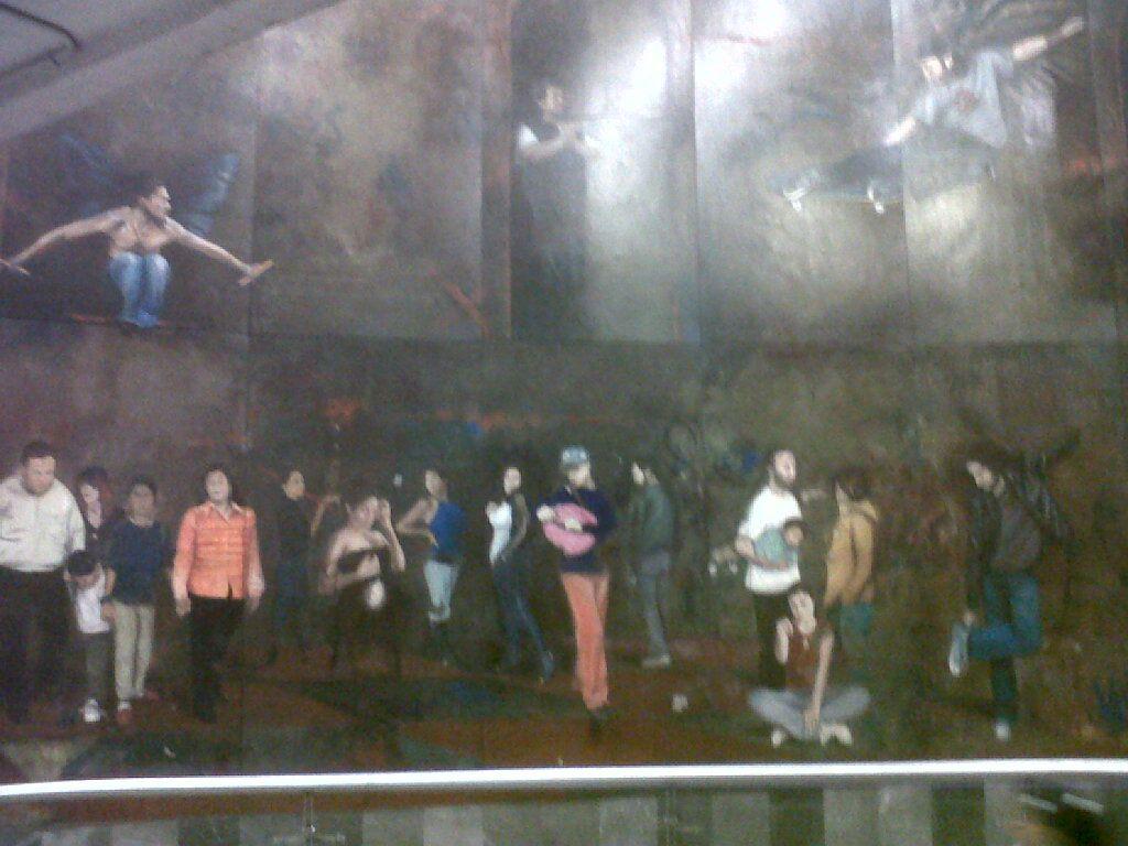 mural en el metro insurgentes
