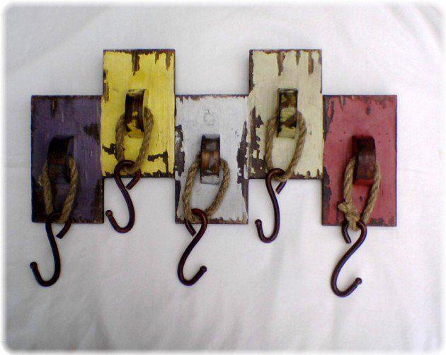 30 Vintage DIY Coat Hooks