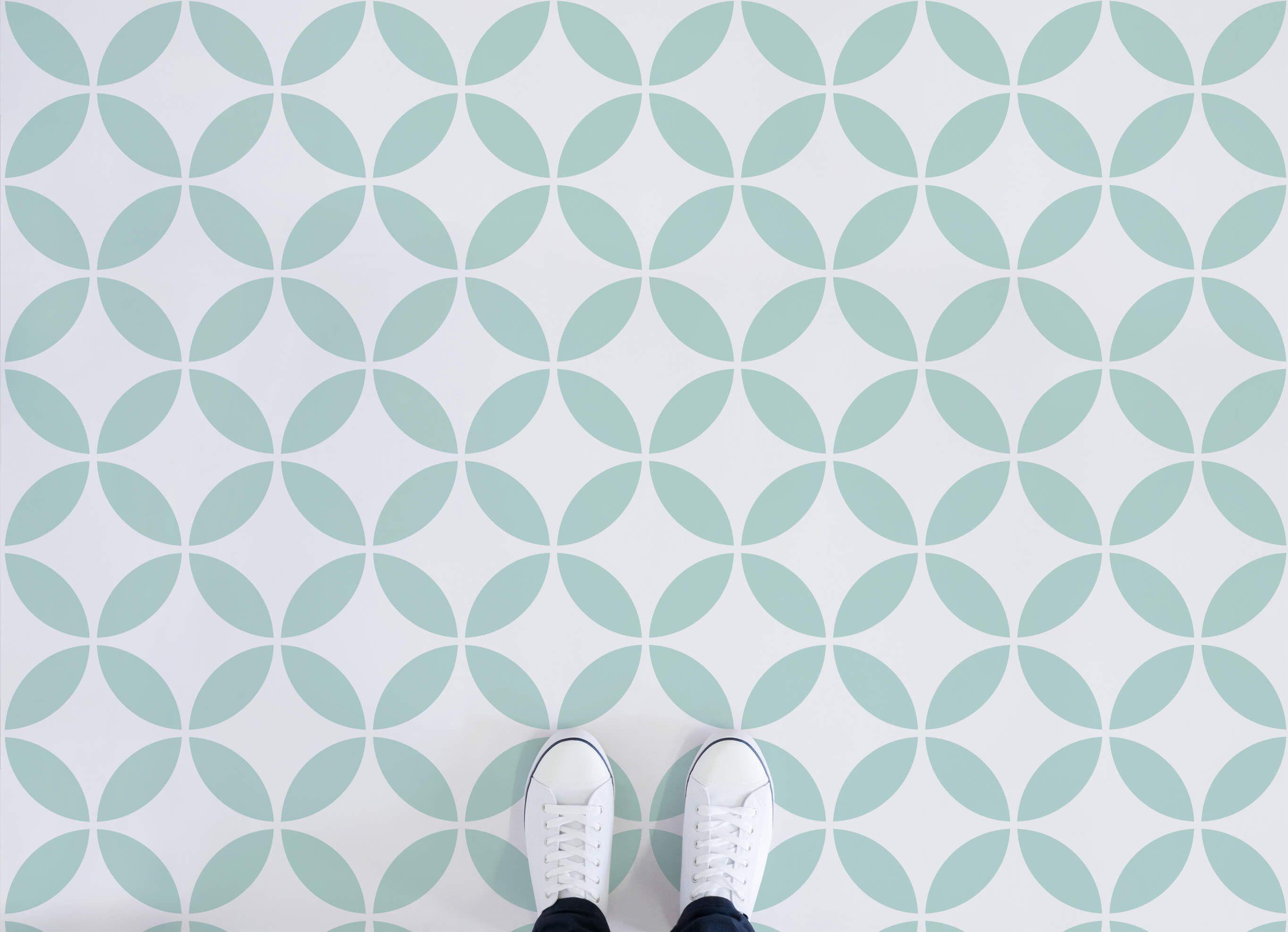 Circle Pattern Vinyl Flooring | Lorem ipsum, Circle pattern and ...