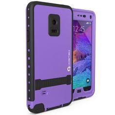sports shoes 11566 2f0b0 Note 4 Waterproof Case Ghostek Atomic Purple Samsung Galaxy Note 4 W ...