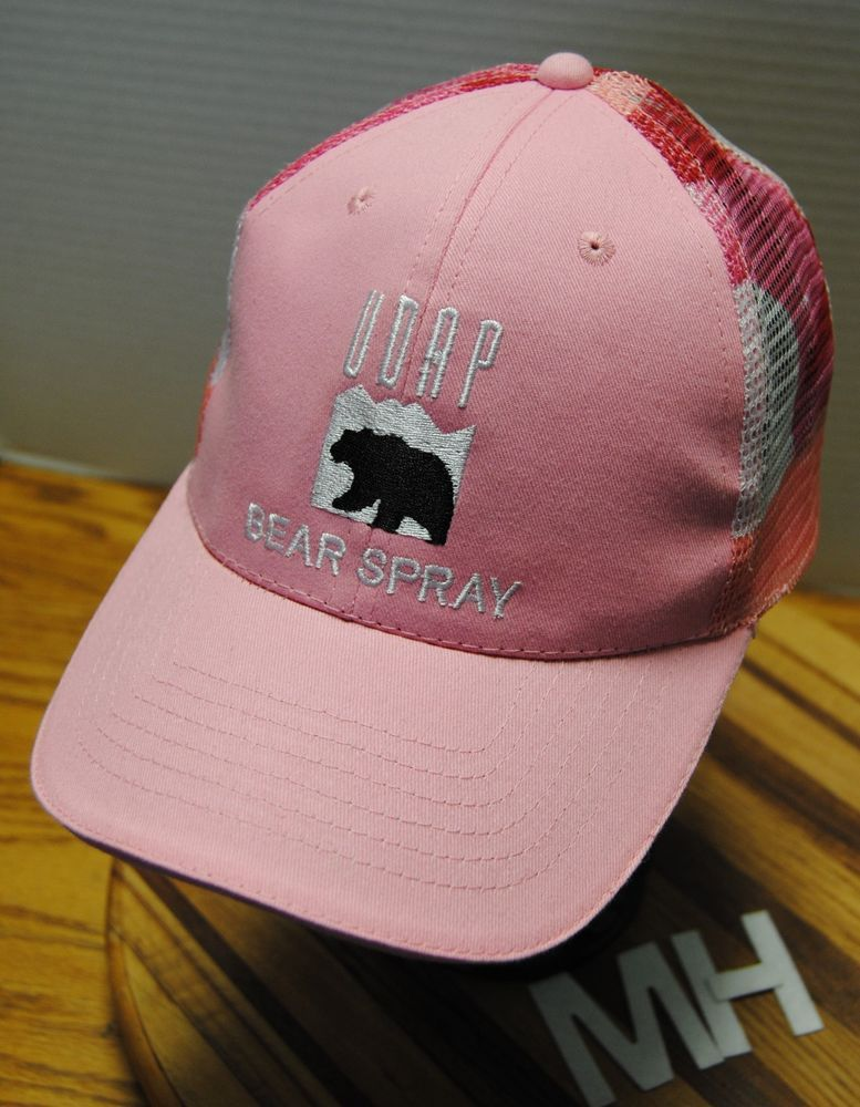 UDAP BEAR SPRAY WOMAN S HAT. PINK WITH RED CAMO MESH BACK ADJUSTABLE!!   fashion  clothing  shoes  accessories  womensaccessories  hats (ebay link) c359a0e2aa27