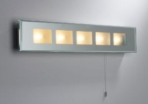 Low Voltage Mirrored Bathroom Wall Bracket With Pull Switch Wall Lights Contemporary Wall Lights Outdoor Ceiling Lights