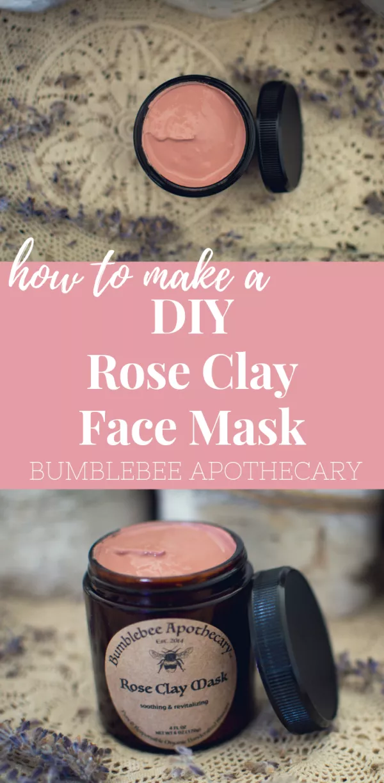 Rose Clay Face Mask Recipe