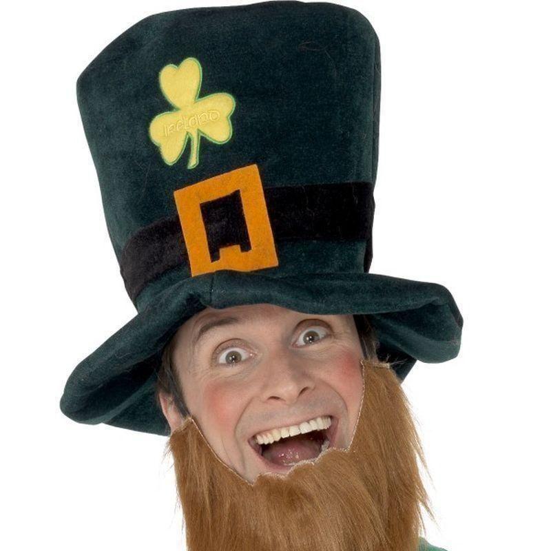 Leprechaun Hat Adult Unisex Smiffys Fancy Dress Costume Hat