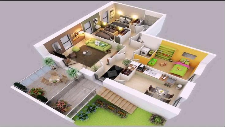 Korean Small House Design Desain Rumah Kecil Denah Rumah 3d Denah Rumah