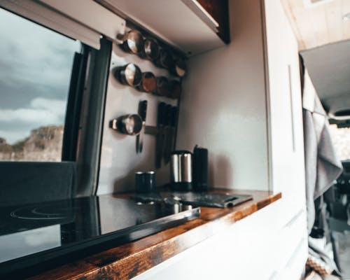 Photo of DIY Camper Van Kitchen Inspiration