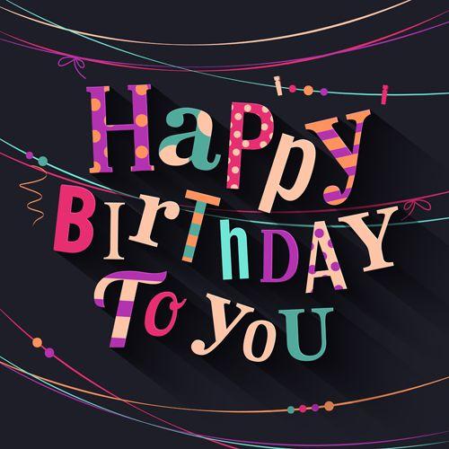 Happy Birthday Cards Creative Vector 02 Vector Card Free Download Targetas De Feliz Cumpleaños Tarjetas De Feliz Cumpleaños Carteleras De Feliz Cumpleaños