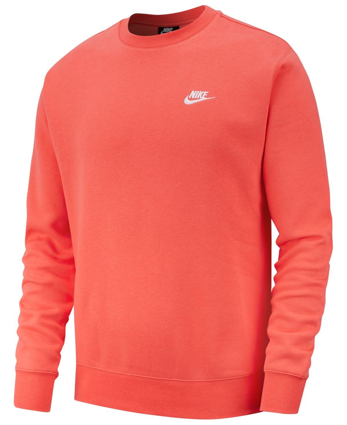 Nike Men S Club Fleece Crew Sweatshirt Reviews All Activewear Men Macy S Nike Clothes Mens Mens Sweatshirts Sweatshirts [ 1467 x 1200 Pixel ]