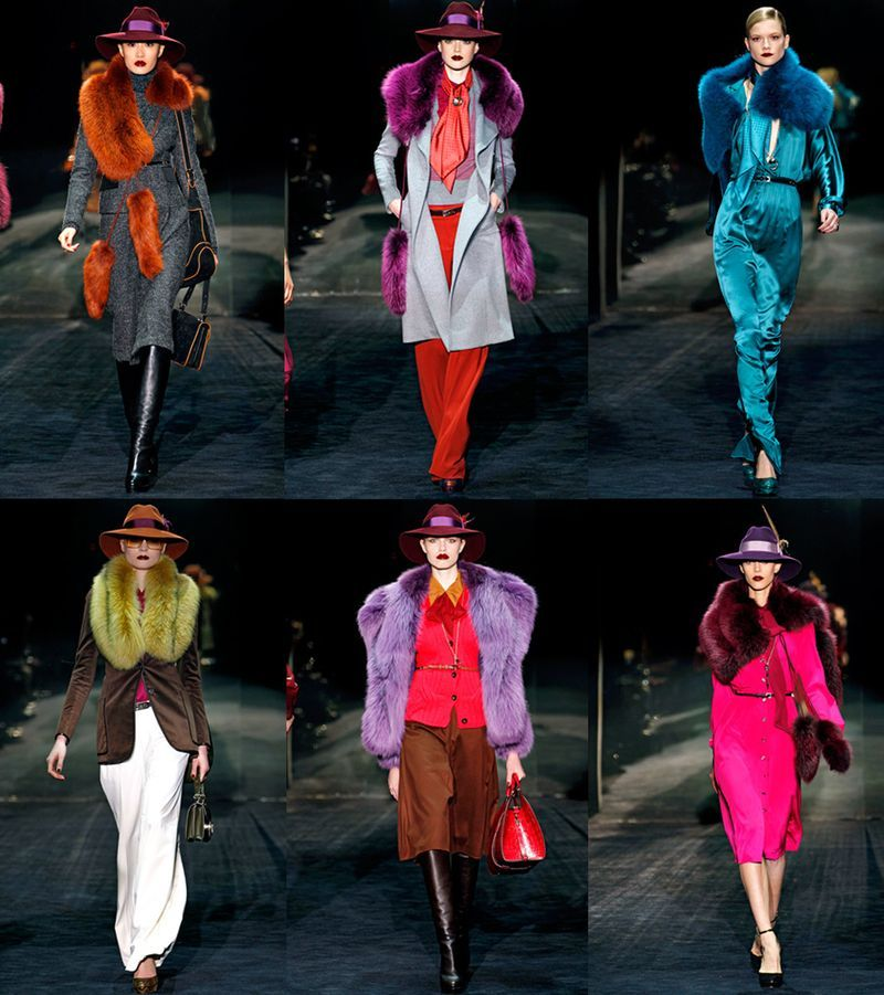 Gucci FW 2012 - 70s uber glam