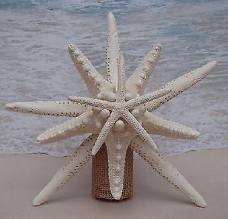 Hawaiian Christmas Tree Topper: Starfish Christmas Tree Topper