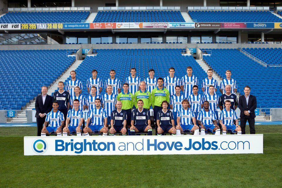 Brighton & Hove Albion FC Team 2011/2012 Sponsored By