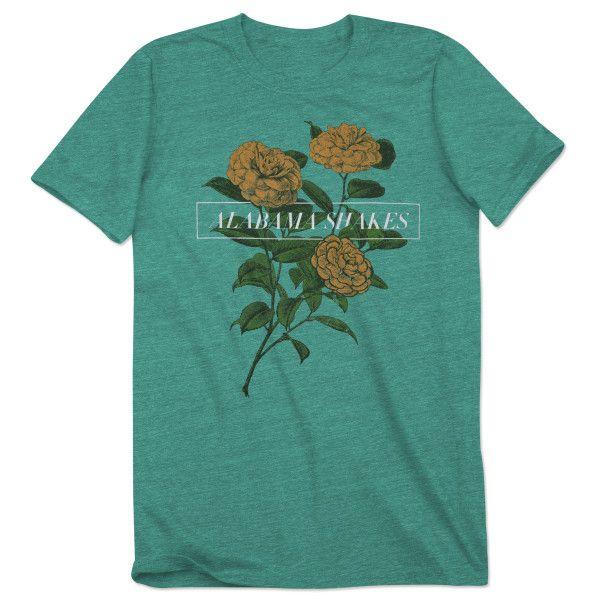 Alabama Shakes Tri Lemon Flowers Women S T Shirt Shirts T