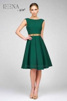 Emerald Knee Length Dress En 2019 Vestidos Formales