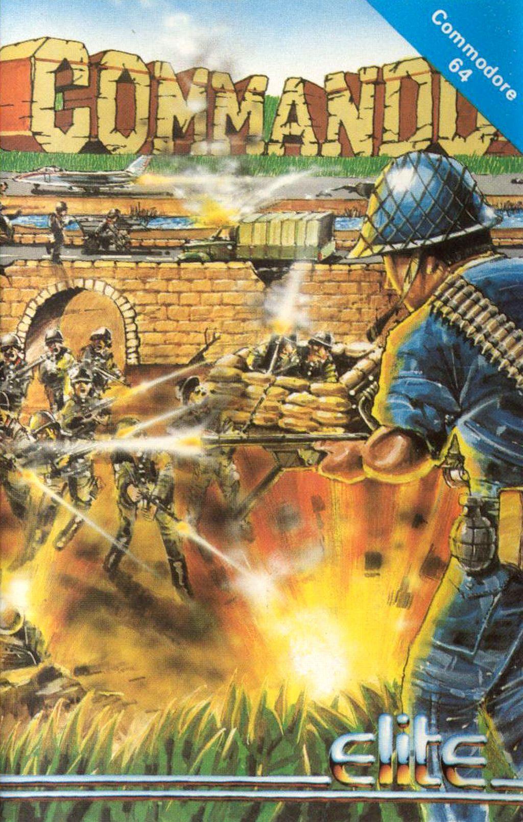 Commando (Commodore 64 version - fun game, but the game