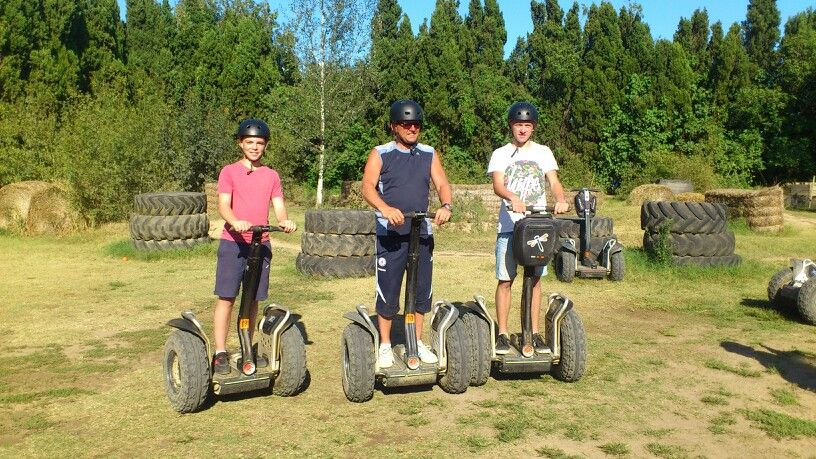 We have passed a nice time with Joe, Robert and Simon! Segway X2, Ocitània, Gualta, Girona, Costa Brava, Empordà, Catalonia, Spain. www.ocitania.cat
