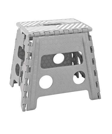 Tremendous Gray 13 Folding Step Stool 12 99 Cucina Stool Bed Machost Co Dining Chair Design Ideas Machostcouk