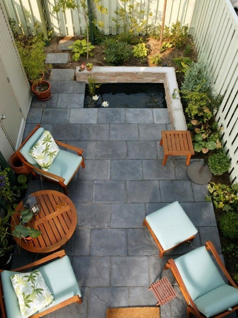30 Wonderful Outdoor Courtyard Design Ideas Patio Garden Design Small Patio Design Small Patio Garden