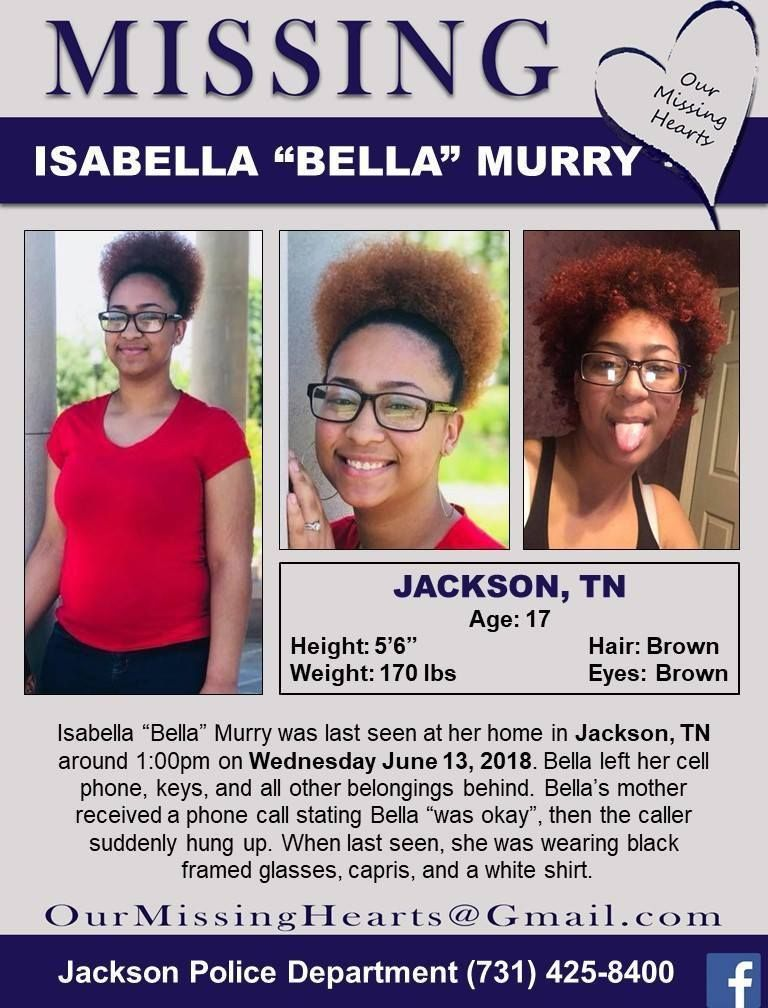 Find Missing Isabella Murry! is the new case of a teen girl who left all  behind & whose mom got an odd phone call about her later. Where is Isabella?