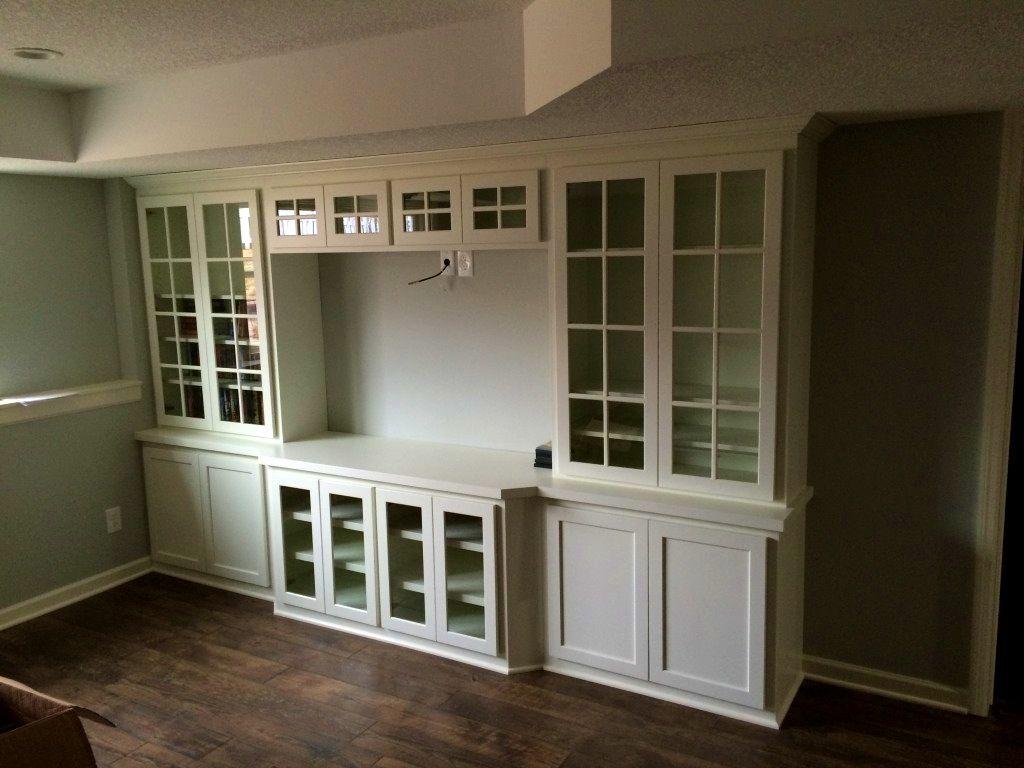 Bathroom:Interesting Built Media Cabinets For Flat Screen