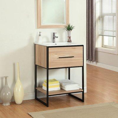 Base Finish Legion Furniture Single Sink Vanity Single
