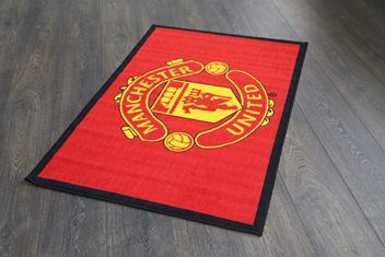 Manchester United Rubber Backed Rug