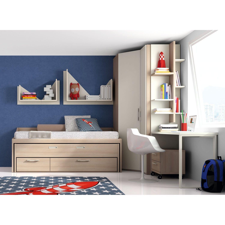 Dormitorio juvenil monza roomies pinterest for Dormitorios infantiles y juveniles