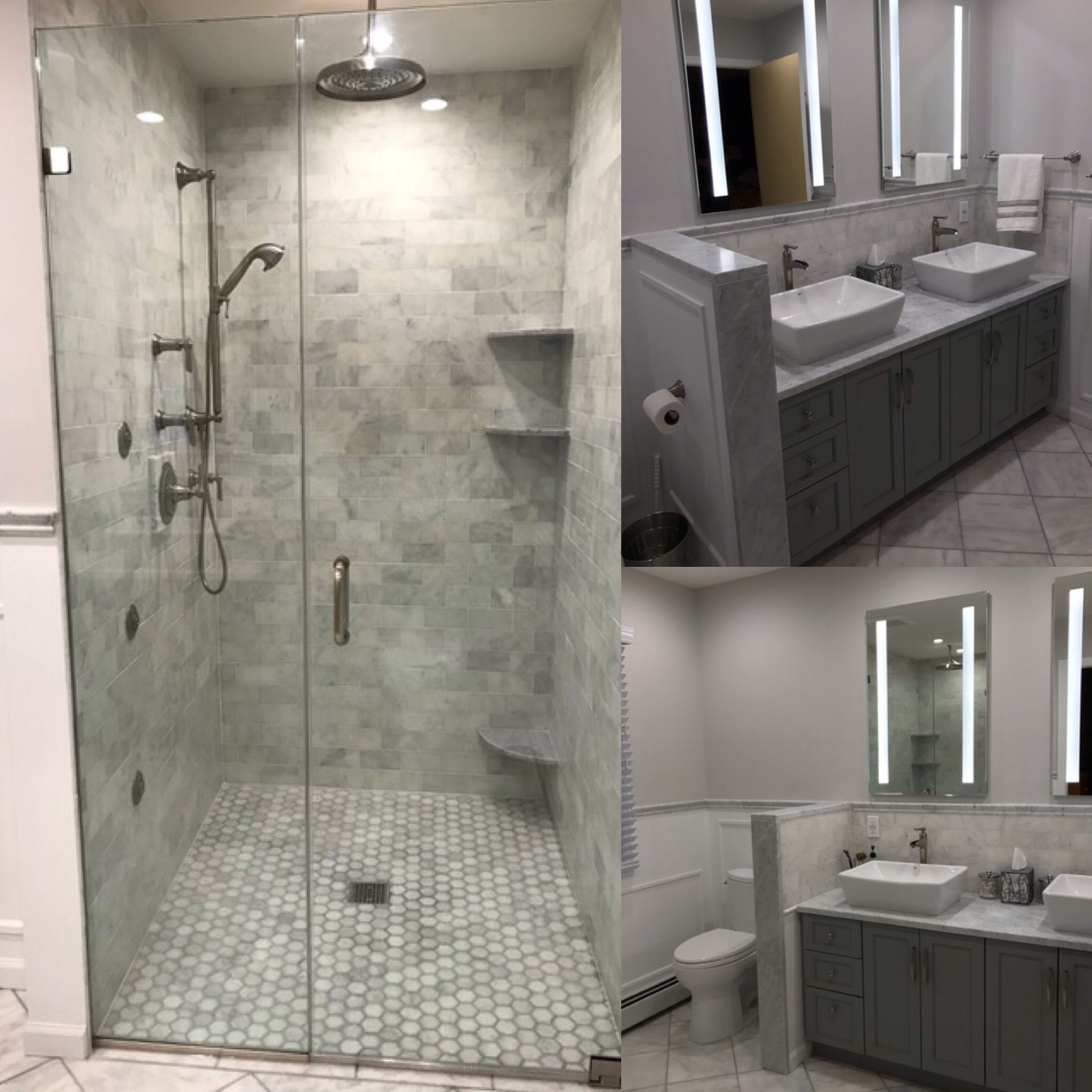 Majestic Kitchens Baths Designer Jodi Duerr Helped Her Clients Create This Stunning New Bathroom For The With Images Bathroom Design Kitchens And Bath Kitchens Bathrooms